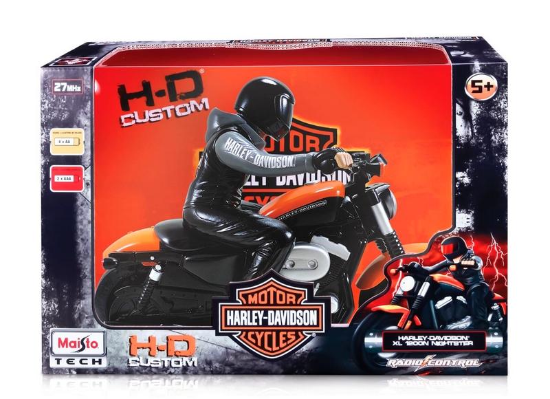 Maisto Radio Control Harley Davidson Motorcycle