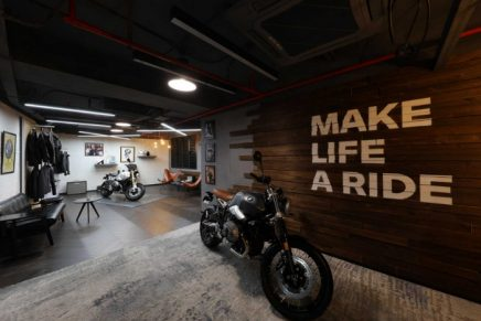 BMW unveiled exclusive space dedicated to motorcycle enthusiasts in China