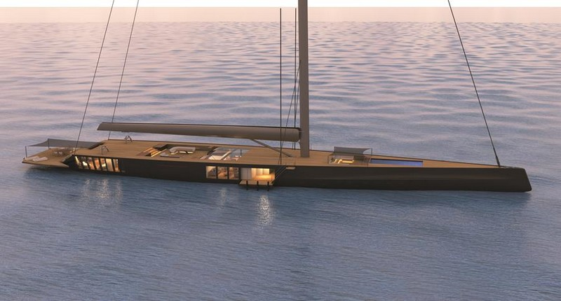 Malcolm McKeon Yacht Design Confirm the Contract for the Design of a 78m mega sloop