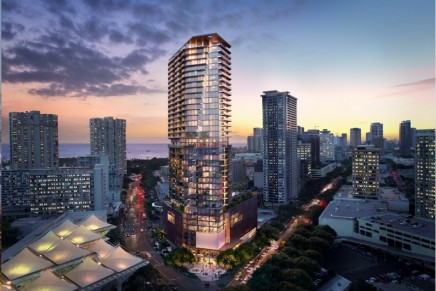Limited Collection of Residences Will Introduce a New Era of Luxury High-Rise Living in Hawaii