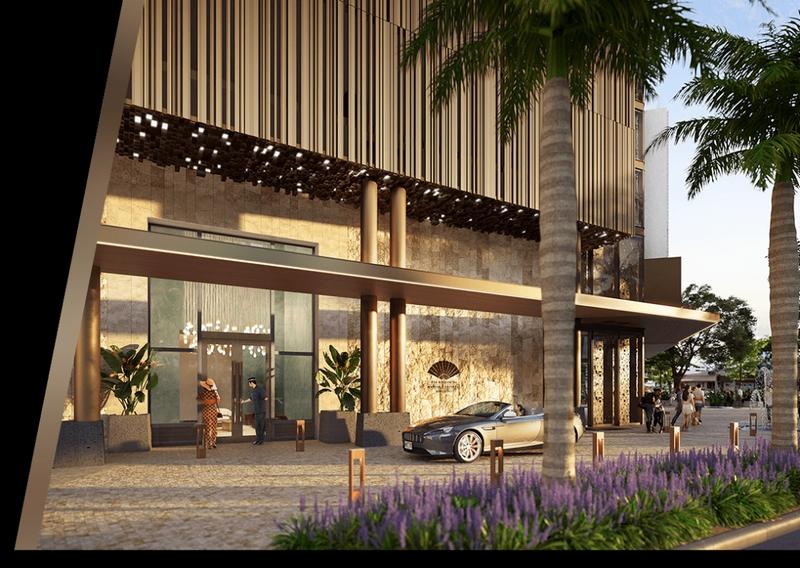 Mandarin Oriental Hotel and Residences, Honolulu- entrance