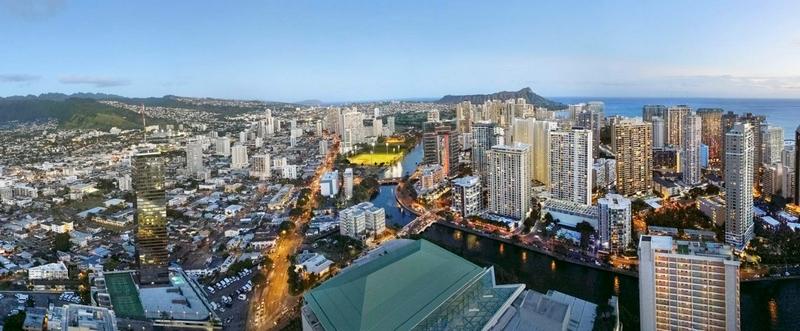 Mandarin Oriental Hotel and Residences, Honolulu-panorama