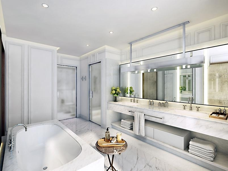 Mandarin Oriental Paris -parisian-terrace-bathroom-suite2019