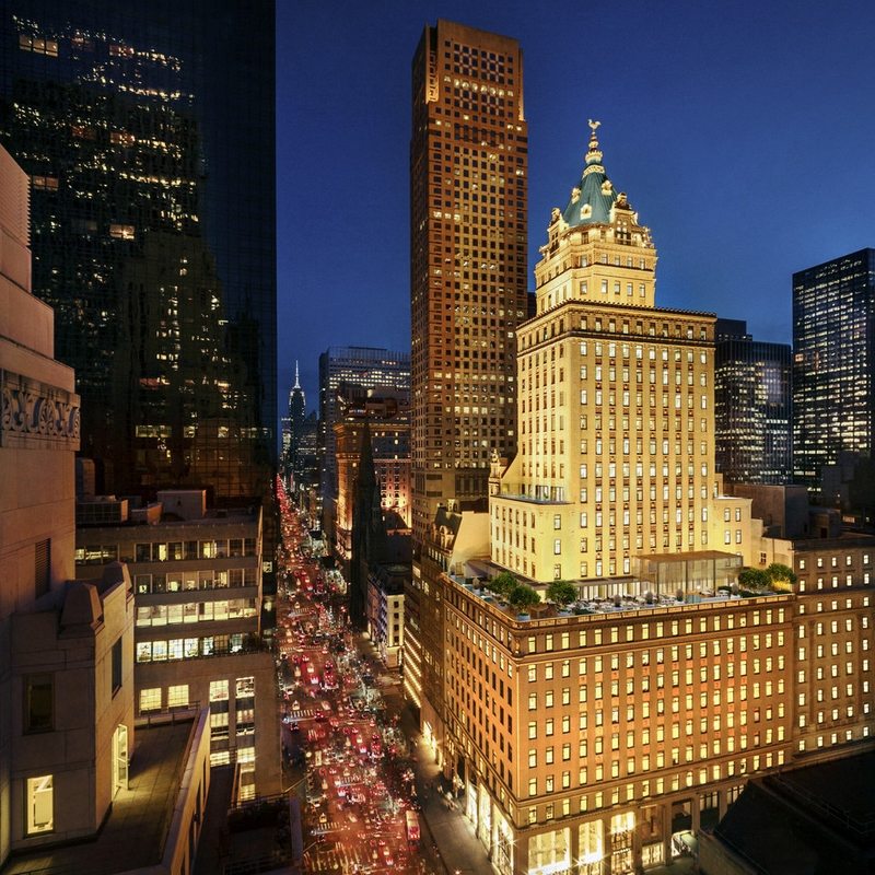 Manhattan's historic Crown Building will be home to Aman New York, including 22 private residences