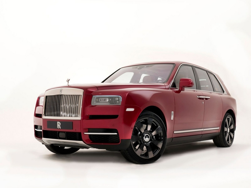 Mansions at Acqualina comes accessorized with a Rolls-Royce Cullinan Red Magma 2018