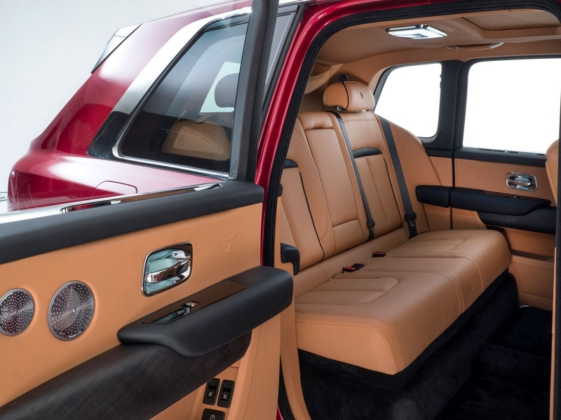Mansions at Acqualina comes accessorized with a Rolls-Royce Cullinan Red Magma