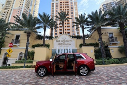 Mansions at Acqualina Miami come fully furnished and accessorized with a Rolls-Royce Cullinan
