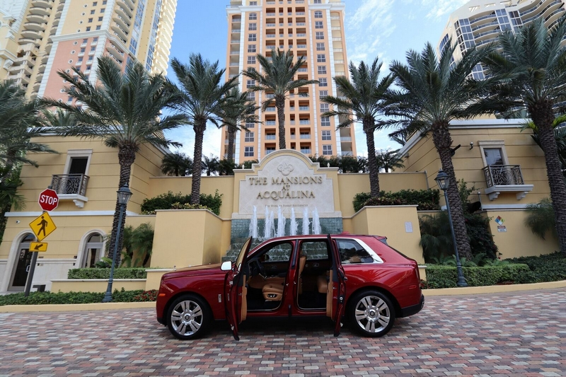 Mansions at Acqualina comes fully furnished with a multi-million dollar custom design and accessorized with a Rolls-Royce
