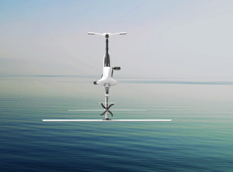 Manta5 Hydrofoiler XE-1 hydrofoil bike