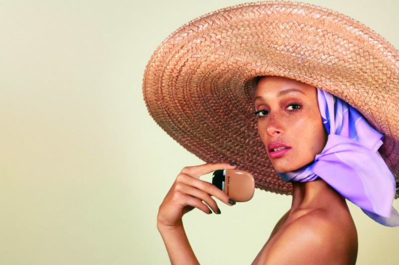 Marc Jacobs Beauty Debuts Adwoa Aboah Spring 2018 Campaign Image For New Shameless Foundation