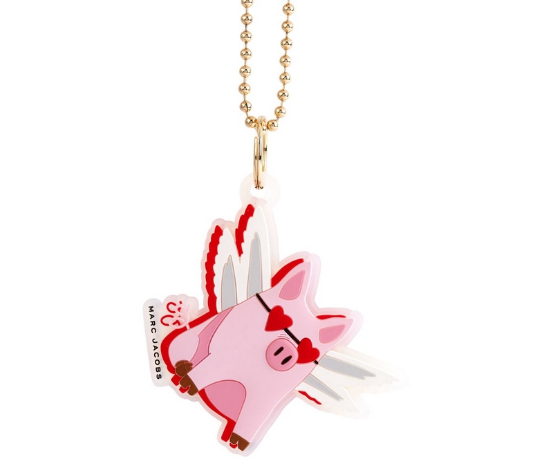 Marc Jacobs Flying Pig Charm