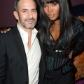 Marc Jacobs and Naomi Campbell at the Marc Beauty x Harrods dinner