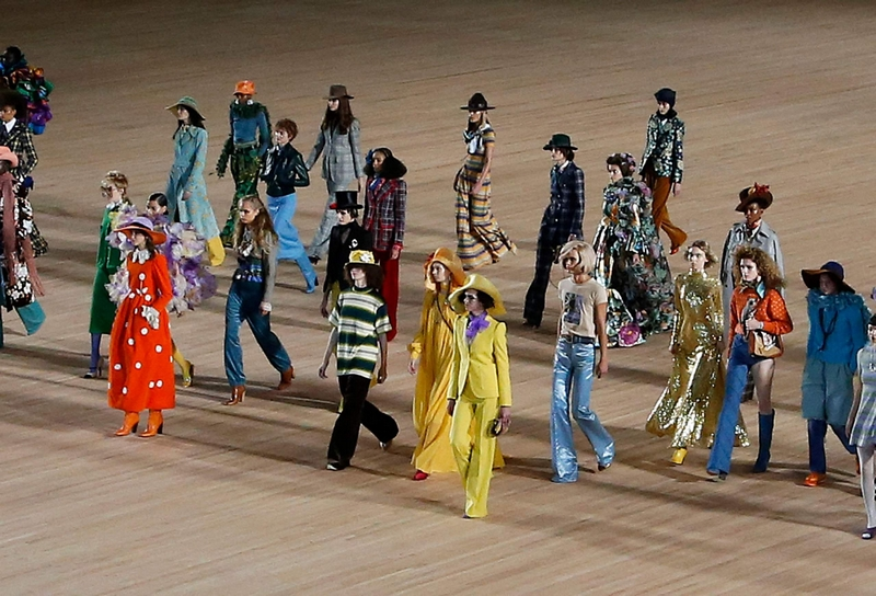 Marc Jacobs looks to the future with unbridled optimism 2019 - fashion show SS - 2020-