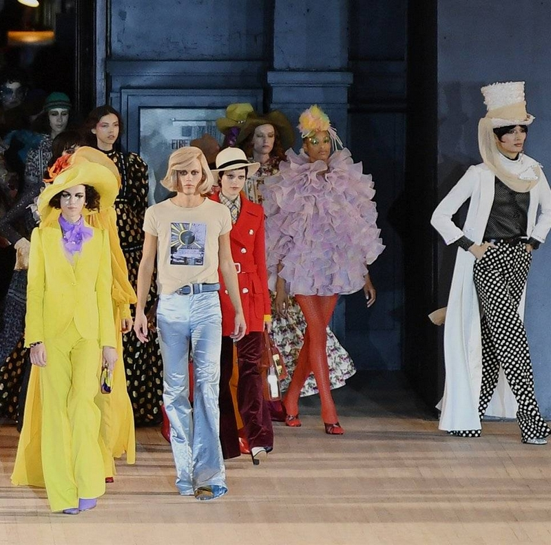 Marc Jacobs looks to the future with unbridled optimism 2019 - fashion show SS - 2020
