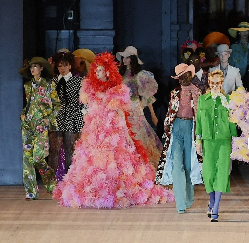 Marc Jacobs looks to the future with unbridled optimism 2019 - fashion show SS2020