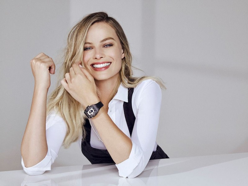 Margot Robbie to create watches for Richard Mille-