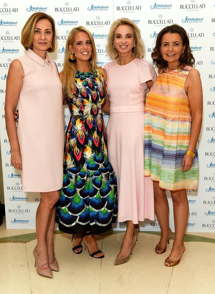 Mariacristina Buccellati, Carolina Gonzalez-Bunster, Princess Corinna Sayn Wittgenstein and Isabel Falkenberg