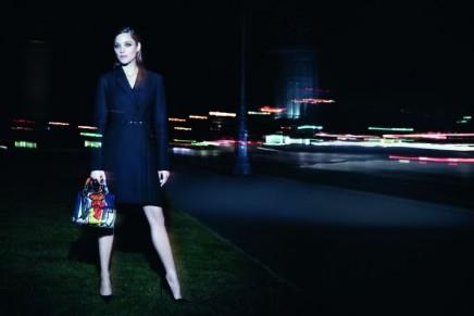Marion Cotillard is an electric Parisian night owl