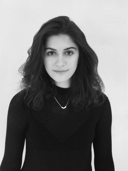 Marissa Petteruti as the winner of the 2018 YOOXYGEN Award