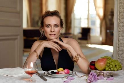 Diane Kruger for 'Martell France 300' project