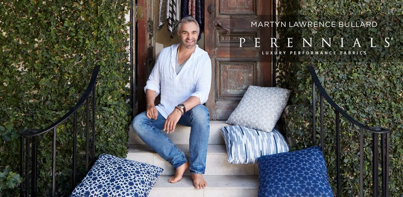 Martyn Lawrence Bullard for Perennials collection inspired by the renowned designer's exotic travels around the world