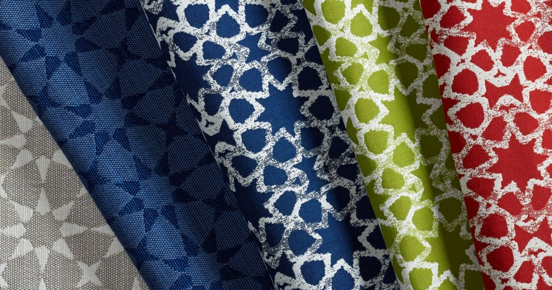 Martyn Lawrence Bullard for Perennials collection is inspired by the renowned designer's exotic travels around the world