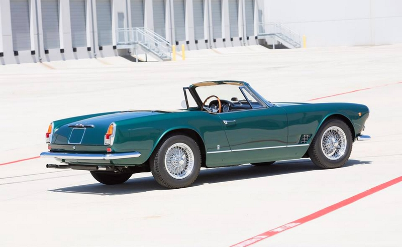 Maserati 3500 gt spider of 1960 Carrossée by vignale
