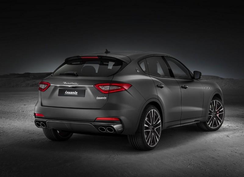 Maserati Levante Trofeo luxury SUV-