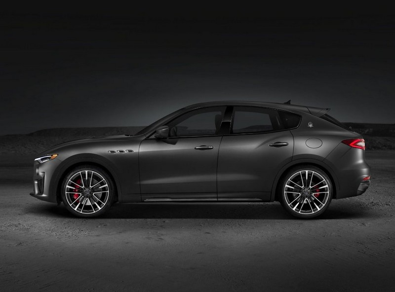Maserati Levante Trofeo - the car