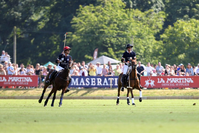 Maserati Polo Tour 2018 - UK - HRH The Duke of Cambridge and Malcolm Borwick