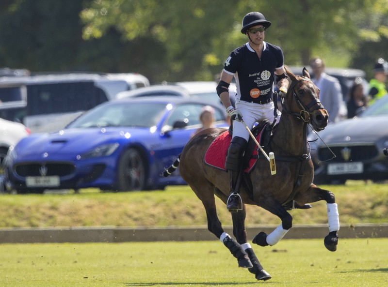 Maserati Polo Tour 2018 - UK - HRH The Duke of Cambridge
