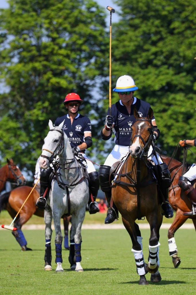 Maserati Polo Tour 2018 - UK - Malcolm Borwick and Bruce Merivale-Austin