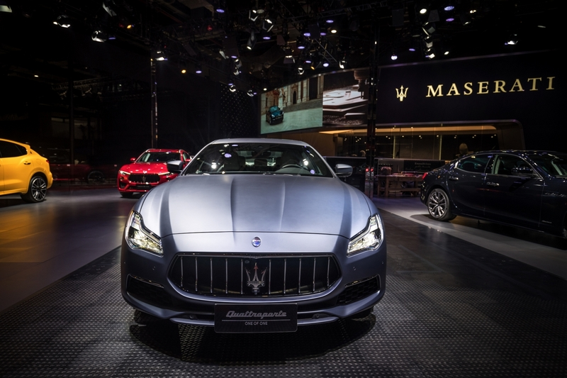 Maserati Quattroporte GranLusso - A ONE OF ONE for an exceptional customer at the Shanghai Auto Show 2019