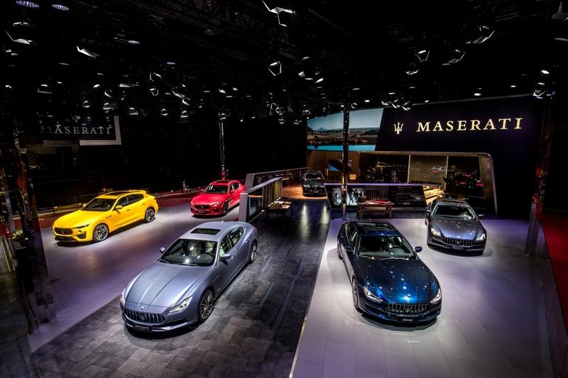 Maserati Stand at Shanghai Auto Show 2019
