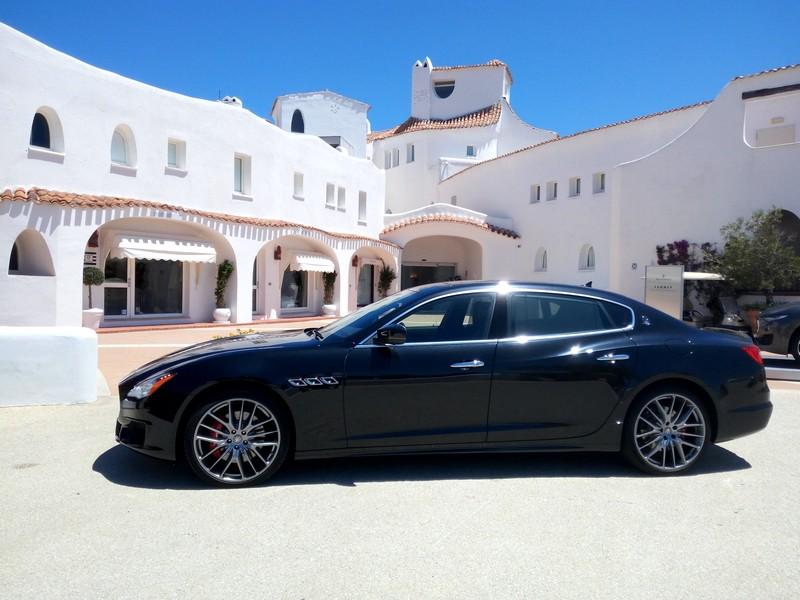 Maserati Summer Experience 2017 Quattroporte at Hotel Romazzino