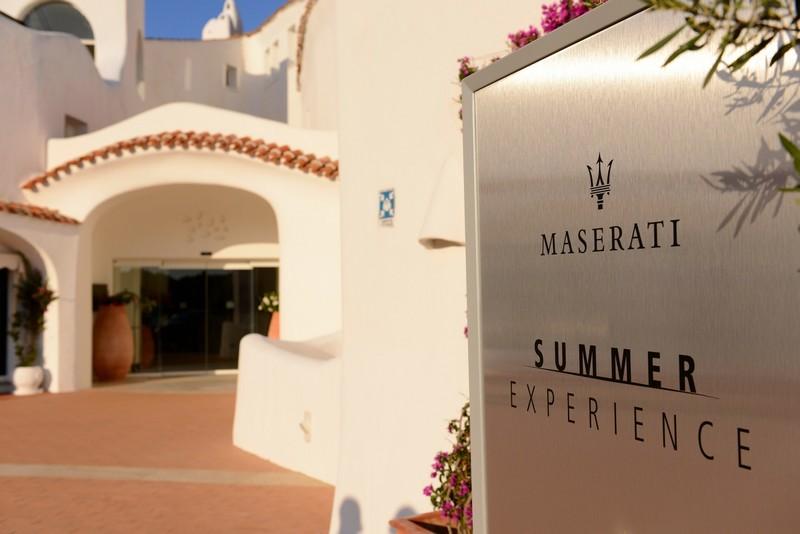 -Maserati Summer Experience 2017corner at Caladi Volpe Hotel