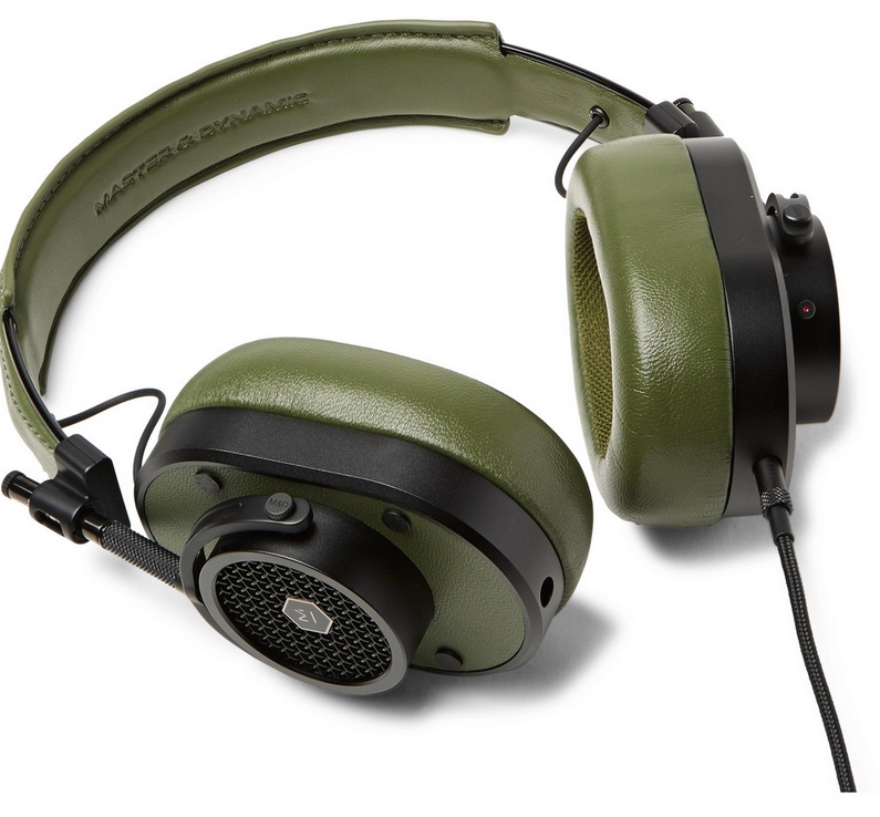 Master & Dynamic MH40 leather headphones 2019
