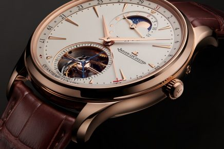 Jaeger-LeCoultre Master Ultra Thin Tourbillon Moon combines in premiere two of horology most cherished complications