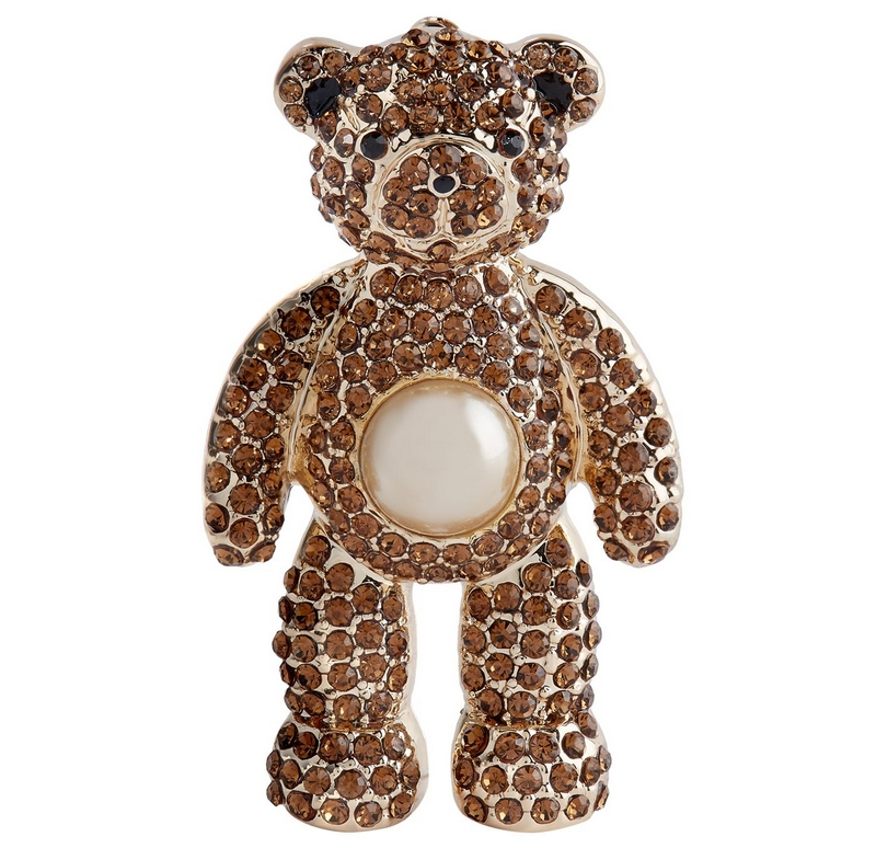 MaxMaraTeddy Bear Brooch