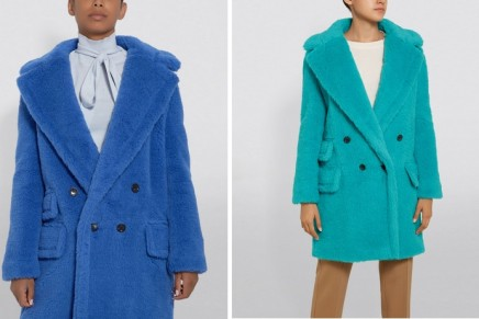 Max Mara's bold and electric Teddyverse