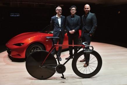 Racing bicycle and Sofa by Mazda KODO Design