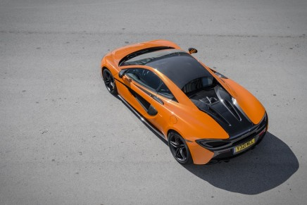 Best of the Best at Red Dot Award 2016 went to McLaren 570S Coupé