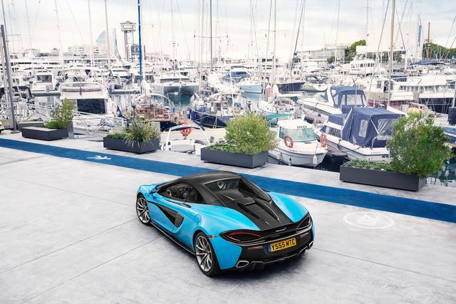 McLaren Automotive's 2017 Sports Series Summer tour images