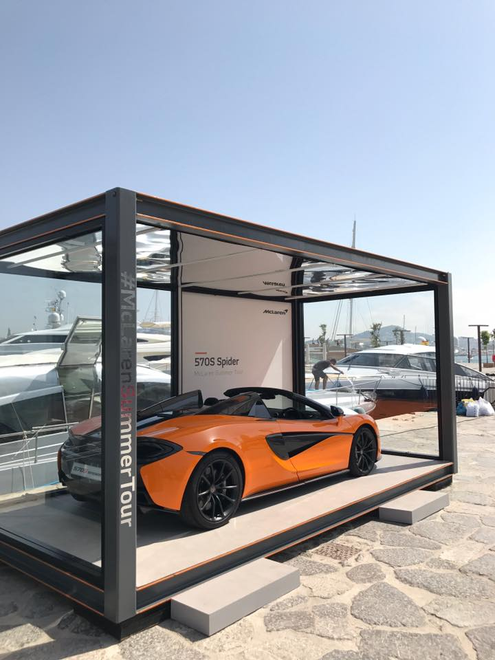 McLaren Automotive's 2017 Sports Series Summer tour