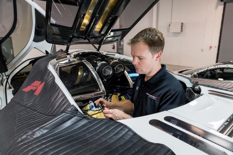 McLaren F1 Service Center is now Open in North America-
