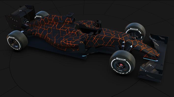 McLaren Honda Racing Model 2017