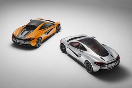 McLaren at 2017 SIAM, the first open-air International Motor Show held in Monaco