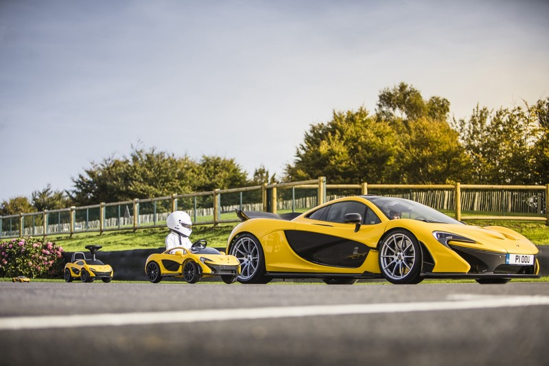 McLaren P1 further downsized
