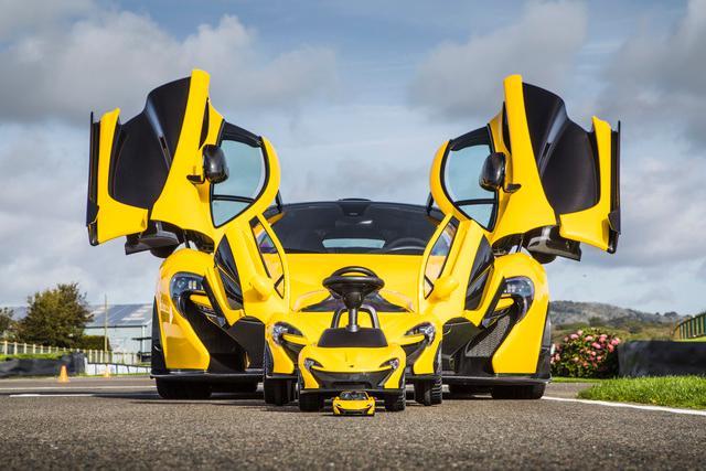 McLaren P1TM further downsized; embraces foot power-
