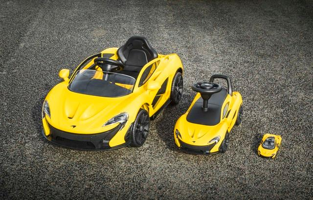 McLaren P1TM further downsized; embraces foot power